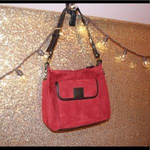 Crazy Horse by Liz Claiborne Red-Burgundy Purse